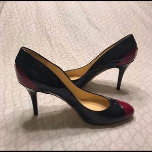 EMILIO PUCCI FIRENZE 2 tone high heels 40(US10)